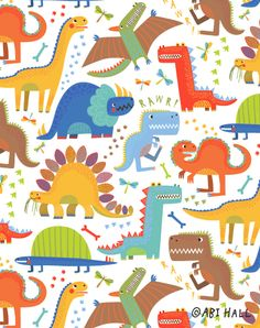 Print #1 'Jurassic Jamboree' collection