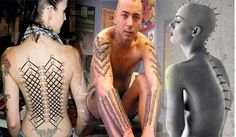 Most strange and extreme body piercings of all time
