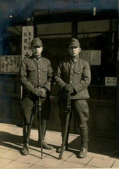 Military Men, Military History, Japanese Uniform, Warring States Period, Imperial Japanese Navy, Army & Navy, World War Two, Armed Forces, Old Photos