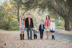 Autumn family photo session