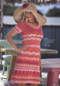 Платье а-ля Миссони - 2 Платья,сарафаны - Женская одежда - Каталог альбомов - SANA петелька