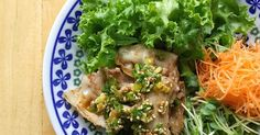 by Rabbies 【Cookpad】 Easy Delicious Everyone's Recipe is million Items Pork Recipes, Asian Recipes, Cooking Recipes, Ethnic Recipes, Pork Mince, Sesame Sauce, Pork Belly, Japanese Food, Side Dishes