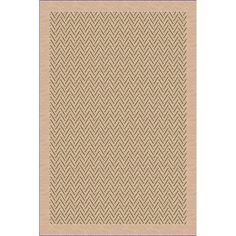 International Woven Indoor/ Outdoor Patio Herringbone Beige/ Green Rug (1'10 x 2'11) (36071846502038) (Olefin, Geometric)