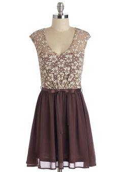 White Haute Cocoa Dress in Plum | Mod Retro Vintage Dresses | ModCloth.com