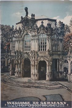 """Welcome To Germany (Baroque Architecture of the Dresden """"Zwinger"""" #LandscapeArchitecture"""
