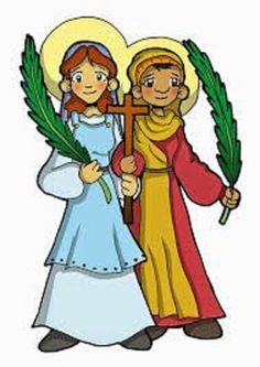 Santas Perpetua y Felicidad (Cartago) Patronas de Madres, madres embarazadas, ganaderos, carniceros, Cartago, Cataluña