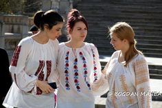 Traditional ancient romanian shirt