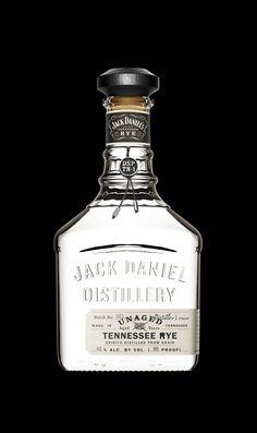 Jack Daniel's Unaged - Distiller's run. Packaging design by Stranger & Stranger, featured on The Dieline