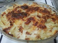 Potato Gratin of Gordon Ramsey with mild and appetizing changes