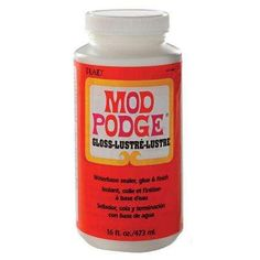16 oz. Gloss Decoupage Glue