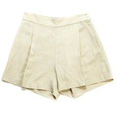 Tillie Shorts - Cream