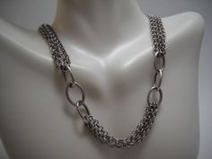 """#925Sterling #925Silver #925SterlingSilver #Sterling #Silver #SterlingSilver #ChainLink #Chain #Necklace #SilverChain #SilverNecklace 18"""" (15.2g) EUC #Jewelry #Jewellery"""