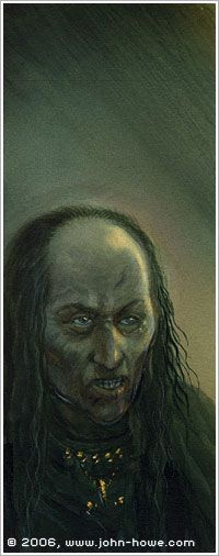 Grima Wormtongue by John Howe