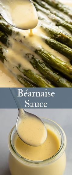 Béarnaise Sauce Béarnaise sauce is the perfect way to complement a steak but this recipe can be used in a variety of ways – serve it over steak, vegetables, eggs, or fish! Steak Sauce Recipes, Grilled Steak Recipes, Beef Recipes, Cooking Recipes, Best Steak Sauce, Water Recipes, Soup Recipes, Recipies, Steaks