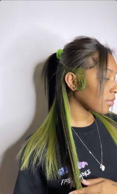 Dyed Natural Hair, Dyed Hair, Hair Inspo, Hair Inspiration, Curly Hair Styles, Natural Hair Styles, Creative Hair Color, Hair Laid, Baddie Hairstyles
