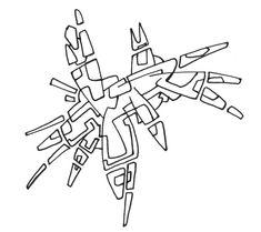 #2006 #abstractart #artabstrait #indianInk #encredechine #dessin #drawing #black #noir #marqueur #feutre #stylo #marker #pen #blackandwhite #futurist #mechanical #handdrawn #faitmain // 44-005