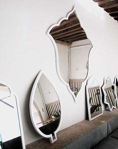 casamidy white mirrors
