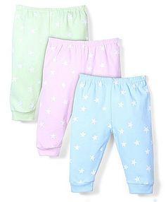 Zero Full Length Leggings Star Print Set of 3 - Light Green Light Pink Light Blue http://www.firstcry.com/zero/zero-full-length-leggings-star-print-set-of-3-light-green-light-pink-light-blue/826189/product-detail