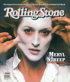Meryl Streep Cover Photo by Annie Leibovitz October 1981