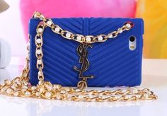 iPhone 5/5S - Purse Style Soft Case With Bling Pearl Decorative Strap in Assorted Colors from Cool Mobile Accessories
