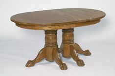 Amish Double Pedestal Dining Table East Earl Collection Shop DutchCrafters for all your country and traditional dining room needs including this beautiful double pedestal table. Heavy Duty Beach Chairs, Double Pedestal Dining Table, Chair Design Wooden, Wrought Iron Patio Chairs, Amish Furniture, Built In Bookcase, Wood Construction, Walnut Wood, Dining Chairs