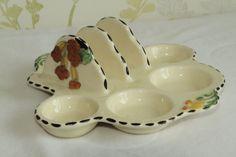 Burleigh Ware Meadowland Egg and Toast Holder Art Deco | eBay