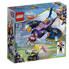 Join in the action-packed LEGO DC Super Hero Girls world as Batgirl battles the yellow Kryptomite for her stolen ePad. This great set features a Batgirl mini-doll figure the Batjet with opening cockp...