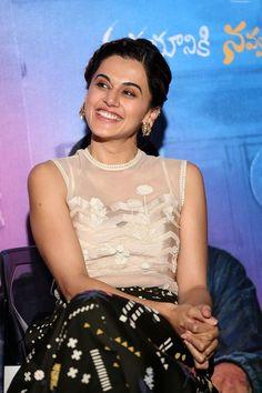 bollywoodmirchitadka: Taapsee Pannu at Anando Brahma Trailer Launch Stil...