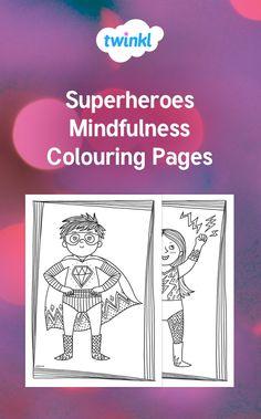 Beautiful Uppercase Alphabet Themed Mindfulness Colouring