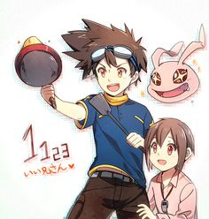 digimon His tai breasts