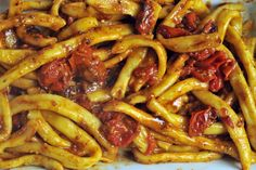 NYT Cooking: Strozzapreti With Roasted Tomatoes
