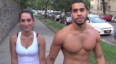 This Couple Found A New Way To Work Out Together That Made People Stop And Stare