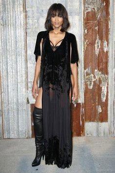 Ciara at Givenchy Spring 2016 Ready-to-Wear