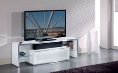 Beautiful high-quality white TV Stand   #luxury #luxuryhome #interior #interiordesign