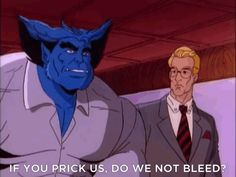 "Every time Beast quoted the classics. | The 25 Best Things About The '90s ""X-Men"" Cartoon"