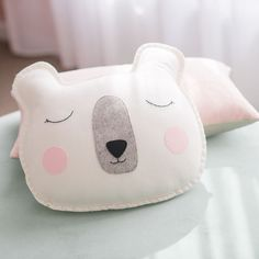 Our special custom order for Bel of @petiteinteriorco for her daughter\'s new room a Miss Sleepy Bear  I loved making this one and seeing this beautiful room come to life  #girlsroom #girlsdecor #bearpillow #bearcushion #hellobooandbear #booandbear #handmade #etsyau #etsykids #etsyfinds #etsyaustralia #madeinmelbourne #afterpay #afterpayau #kidsroom101 #childrensroominspo #girlsroominspo #barnrummet #barnrum #interior444 #interior125 #interiordesign #interiorstyling
