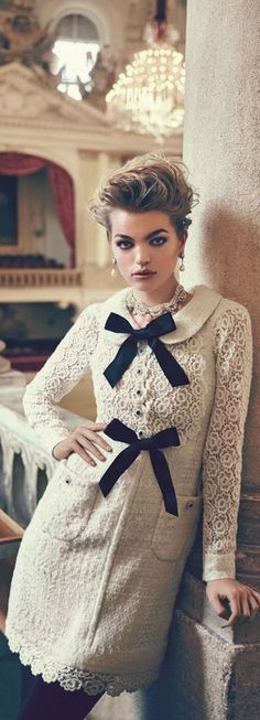 Chanel ~Bergdorf Goodman Promo Ad 2015