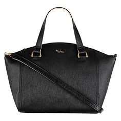 Tula Saffiano Medium Leather Grab Bag £119