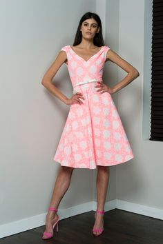 Barbara Tfank Resort 2015 Collection Slideshow on Style.com #pink #dress