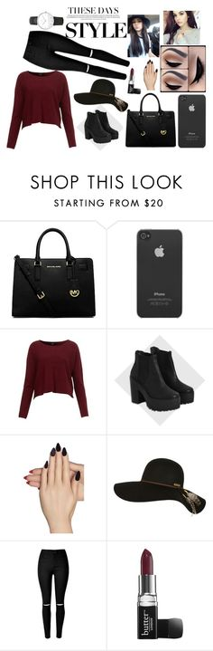 """""""Shopping OOTD"""" by itsbrianasanders on Polyvore featuring Michael Kors, Incase, River Island, Static Nails, Billabong, Butter London and Daniel Wellington"""