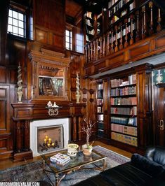home library ideas - Henry Higgins style