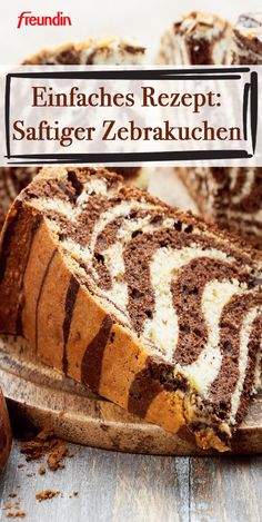 The zebra cake looks more difficult than it actually is. The recipe is a simple marble cake with a modified preparation. This is how it gets its refined zebra look pies pies recipes dekorieren rezepte Dessert Simple, Keto Recipes, Cake Recipes, Dessert Recipes, Soup Recipes, Holiday Desserts, Easy Desserts, Baking Desserts, Zebra Cakes