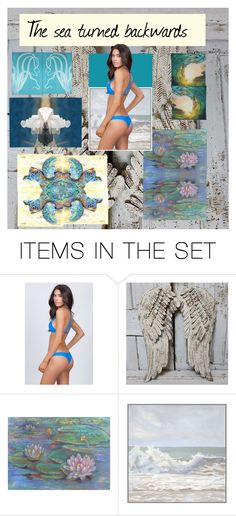 """""""The Sea Turned Backwards"""" by thesandlappershop ❤ liked on Polyvore featuring art"""