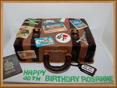 Suitcase/luggage Birthday Cake!