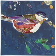 Chipper Bird Art - Berry
