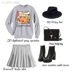 One way to style your ZG comic sweater