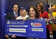 high school sweethearts are lottery jackpot winners...how kinky is that