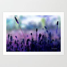 If I had a purple crayon ... Art Print by Chris Armytage™  - $33.28