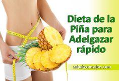 Dieta De La Piña para Bajar de Peso   Salud y Consejos