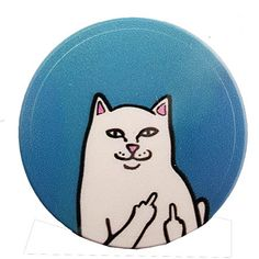 Popsocket uchwyt pop riptide cat fuc.k cool socket